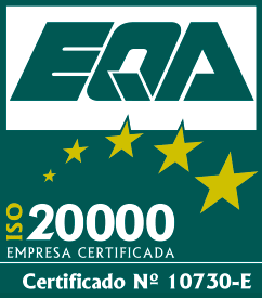 ISO 20.000 - Cert. No. 10730-E