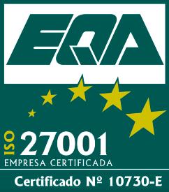 ISO 27.001 - Cert. No. 10730-E
